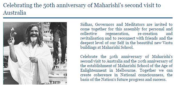 celebrating-maharishis-visit